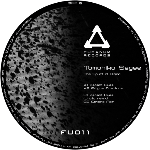 [FU011] Tomohiko Sagae ‎– The Spurt of Blood